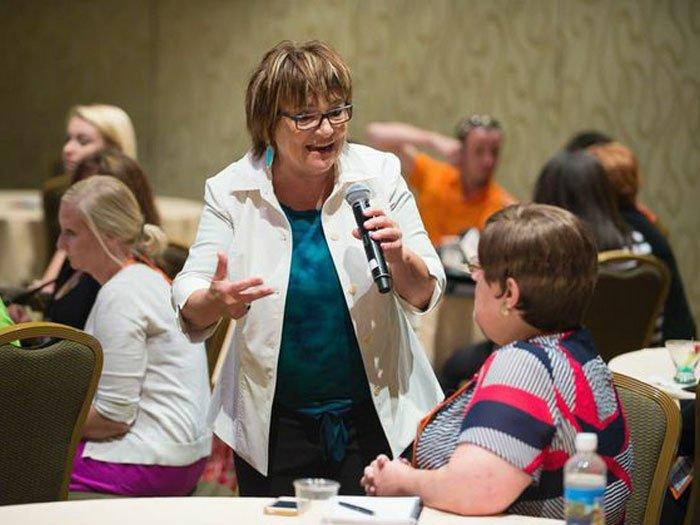 Karen McCullough Keynote Presentations - Shot of Energy - Re-Energizing the Workforce