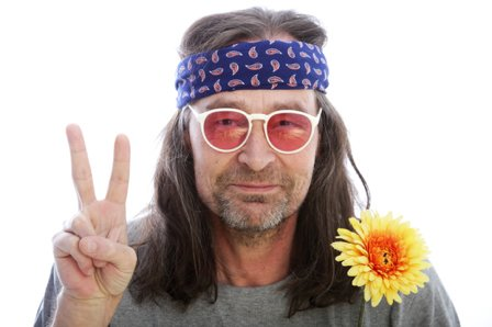 OK Boomer Meme Hippie